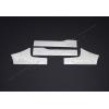 Накладки на внутренние пороги (нерж., 4 шт.) для Peugeot Partner Tepee 2008+ (Omsa Prime, 5723094)