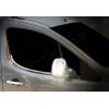Нижние молдинги стекол (нерж., 2 шт.) для Peugeot Partner Tepee 2008+ (Omsa Prime, 5723141)