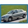 НАКЛАДКИ НА ДВЕРНЫЕ РУЧКИ (НЕРЖ.) 2-ДВ. ДЛЯ RENAULT CLIO II 1999-2008 (OMSA PRIME, 6101042)