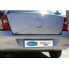 Хром накладка на кромку багажника (нерж.) для Renault Symbol/Clio SD 1999-2009 (Omsa Prime, 6115053)