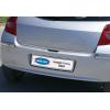 Хром накладка на кромку багажника (нерж.) для Renault Clio III (5D) HB 2006-2011 (Omsa Prime, 6109052)