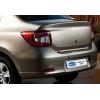 Хром накладка на кромку багажника (нерж.) для Renault Symbol III SD 2013+ (Omsa Prime, 6119052)