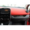 Накаладка на переднюю консоль (над бардачком) для Renault Clio 2012+ (Omsa Prime, 6116025)