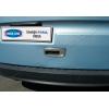Накладка на ручку двери багажника (нерж., 1 шт.) для Renault Kangoo 2008+ (Omsa Prime, 6122051)