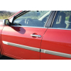 Накладки на дверные ручки (нерж., 4-шт.) для Renault Laguna II SD 2003-2008 (Omsa Prime, 6103041)