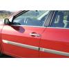 Накладки на дверные ручки (нерж., 4-шт.) для Renault Laguna III SD/SW 2008+ (Omsa Prime, 6103041)
