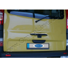 Накладка на ручку двери багажника (нерж., 1шт.) для Renault Trafic 2010-2014 (Omsa Prime, 6124051)