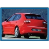 Накладка на нижнюю кромку крышки багажника (нерж.)  для SEAT LEON 1999-2011 (Omsa Prime, 6504053)