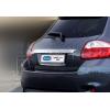 Накладка крышки багажника (над номером, нерж.) для Toyota Auris I (5D) HB 2007-2010 (Omsa Prime, 7007052)