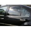 Нижние молдинги стекол (нерж., 4 шт.) для Volkswagen Bora SD 1998-2004 (Omsa Prime, 7501141)