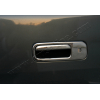 Накладка на ручку двери багажника (нерж., 2 шт.) для VW Caddy 2004-2009 (Omsa Prime, 7520051)