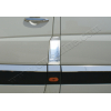 Накладка на лючок бензобака (нерж.) для Volkswagen Crafter 2006+ (Omsa Prime, 4724071)