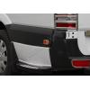 Окантовка на боковые рефлекторы (нерж., 6 шт.) для Volkswagen Crafter 2006+ (Omsa Prime, 4724152)