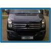 НАКЛАДКИ НА РЕШЕТКУ РАДИАТОРА (НЕРЖ.) 5-ШТ. ДЛЯ VW CRAFTER 2011+ (OMSA PRIME, 7539081)