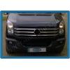 НАКЛАДКИ НА РЕШЕТКУ РАДИАТОРА (НЕРЖ.) 6-ШТ. ДЛЯ VW CRAFTER 2011+ (OMSA PRIME, 7539082)