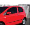 Накладки на дверные ручки (нерж., 2-шт.) для Volkswagen Fox (3D) HB 2006+ (Omsa Prime, 7502042)