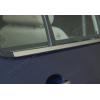 НИЖНИЕ МОЛДИНГИ СТЕКОЛ (НЕРЖ., 4 ШТ.) ДЛЯ VOLKSWAGEN GOLF IV (5D) HB 1998-2004 (OMSA PRIME, 7502141)