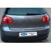 Хром накладка на кромку багажника (нерж.) для Volkswagen Golf V (5D) HB 2004-2009 (Omsa Prime, 7503052)