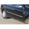 Молдинг дверной (нерж., 4-шт.) для Volkswagen Passat (B3) SD/SW 2000-2005 (Omsa Prime, 7504131)