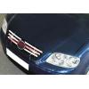 НАКЛАДКИ НА РЕШЕТКУ РАДИАТОРА (НЕРЖ.) 6-ШТ. ДЛЯ  VW POLO 2005-2009 (OMSA PRIME, 7507081)