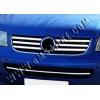 НАКЛАДКИ НА ПЕРЕДНИЙ БАМПЕР (НЕРЖ.) ДЛЯ VW T5 CARAVELLE 2003-2010 (OMSA PRIME, 7525082)