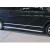 МОЛДИНГ ДВЕРНОЙ  (НЕРЖ., ДЛИННАЯ БАЗА) 7-ШТ. ДЛЯ VW T5 CARAVELLE 2003+ (OMSA PRIME, 7525132)