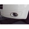 Окантовка на противотуманные фары (нерж., 2 шт.) для Volkswagen Multivan (T5) 2010-2014 (Omsa Prime, 7530103)
