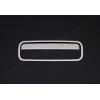 Накладка на ручку двери багажника (нерж., 2 шт.) для VW Multivan (T5) 2010-2014 (Omsa Prime, 7530051)