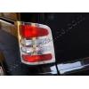 Окантовка на стопы (нерж., 2 шт.) для Volkswagen Multivan (T5) 2003-2010 (Omsa Prime, 7522101)