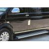 Накладка на лючок бензобака (нерж.) для Volkswagen Multivan (T5) 2003-2014 (Omsa Prime, 7522071)