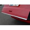 Хром накладка на кромку багажника (нерж.) для Volkswagen Multivan (T5) 2003-2014 (Omsa Prime, 7522058)