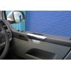 Накладки на дверные подлокотники (нерж., 2 шт.) для Volkswagen Multivan (T5) 2003-2010 (Omsa Prime, 7522031)