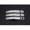 Накладки на дверные ручки (нерж., 3-шт.) для Volkswagen T5 Multivan (3D) 2010+ (Omsa Prime, 7522041)