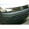 НАКЛАДКИ НА ПЕРЕДНИЙ БАМПЕР (НЕРЖ.) ДЛЯ VW T5 TRANSPORTER 2010+ (OMSA PRIME, 7530083)