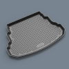 Коврик в багажник (полиуретан, длин.) для CITROEN C-Crosser 2010+ (Novline, CARCRN00036)