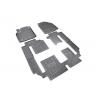 Коврики в салон (полиуретановые, 6 шт.) для Mazda CX-9 2007-2016 (Novline, NLC.33.16.210k)