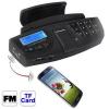 Автомобильный Handsfree SkyS 550 + FM Transmitter + Mp3 Player с креплением на руль
