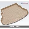 Коврик в багажник (полиуретан, бежевый) для INFINITI QX56 2010+ (Novline, 999TLZ62BG)