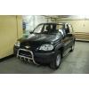 Боковые пороги D60 с листом из нержавеющей стали для Chevrolet Niva 2009+ (UA-TUNING, CHNVA.09.RBLN)