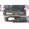 """Защита задняя """"уголки"""" D60 для УАЗ Патриот 2005+ (UA-TUNING, UZPT.05.RAB)"""