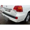 """Защита задняя """"уголки"""" D60 для Toyota LC 200 2007+ (UA-TUNING, TOLC.07.RAB)"""