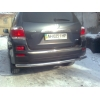 Защита задняя D60 для Toyota HIGHLANDER 2009+ (UA-TUNING, TOHI.RBG)