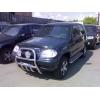 Защита передняя высокая с клыками D60 для Chevrolet Niva 2003-2010 (UA-TUNING, CHNVA.03.FRSG)