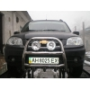 Защита передняя высокая с клыками D60 для Chevrolet Niva 2010+ (UA-TUNING, CHNVA.10.FRSG)