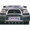 Защита передняя высокая с клыками D60 для УАЗ Патриот 2005+ (UA-TUNING, UZPT.05.FRSG)