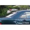 Спойлер заднего стекла (Бленда)  для Mercedes E-Class (W210) 1995-2002 (DT, 00246)