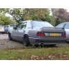 Задний спойлер для Mercedes E-Class (W124) SD 1985-1995 (DT, 11609)