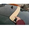 Спойлер заднего стекла (Бленда, полнотелая)  для Mercedes E-Class (W210) 1995-2002 (DT, 11341)