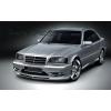 Аэродинамические накладки на пороги для Mercedes C-Class (W202) 1993-2000 (DT, 03507)