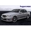 Аэродинамические накладки на пороги для Mercedes C-Class (W202) 1993-2000 (DT, 54H1)